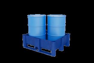 Spill Containment - IBC main plastic rail